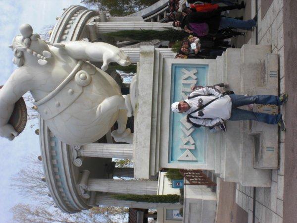 dada au parc Asterix