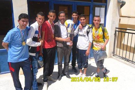 mon équipe.  volly bal  deux fois consécutive 2013, et 2014