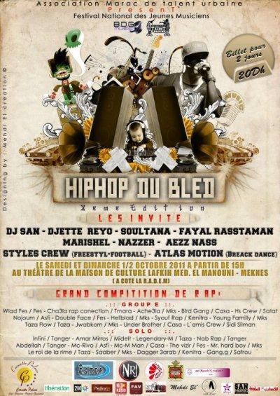 ( Aamar Mirross / Midelt Au Festival Hip Hop Du bléd 2011 )