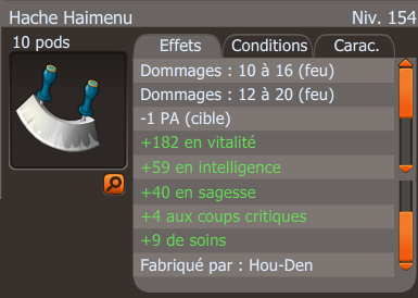 Anneau et Hache !