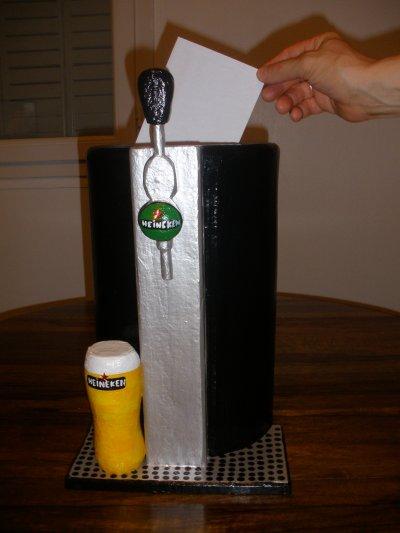 """urne """"pompe à bière"""""""
