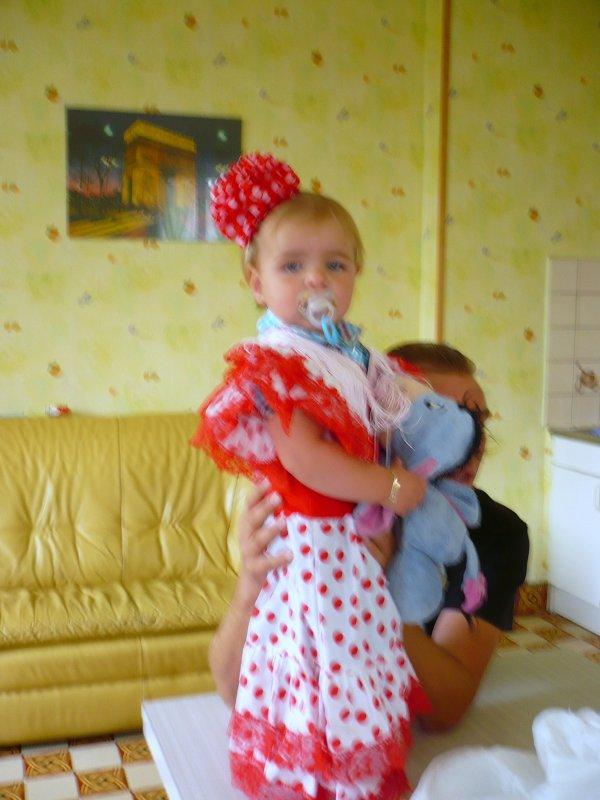 petite robe raméne des vacances par mamie