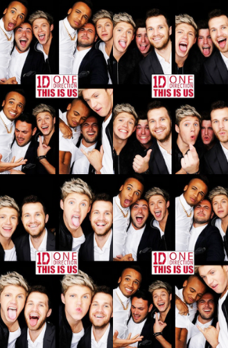One Direction Photobooth a l'after party de This Is Us !
