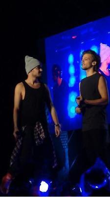 Louis pendant le premier concert du WWAT