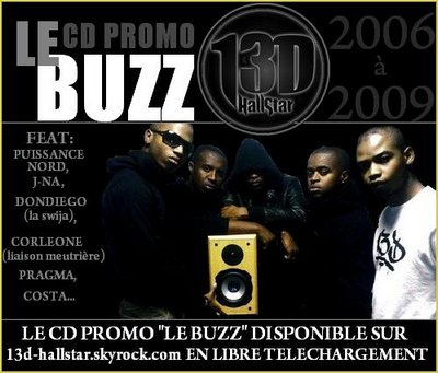 STREET CD PROMO : 13D Hall Star - Le Buzz