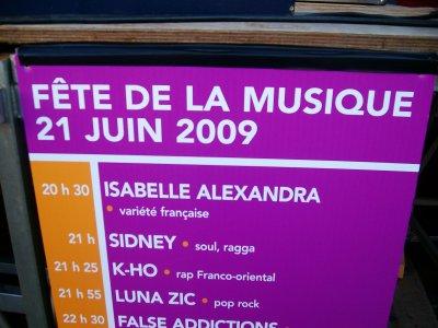 3 photos de la fête de la musique le 21 juin