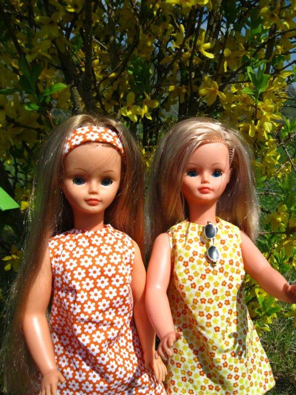 Deux belles au soleil ...