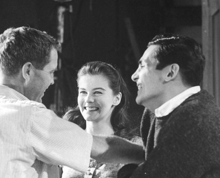 Ann-Margret OLSON sous l'oeil de Grey VILLET en 1961... On reconnaîtra sur la dernière photo l'humoriste et acteur Jack BENNY.