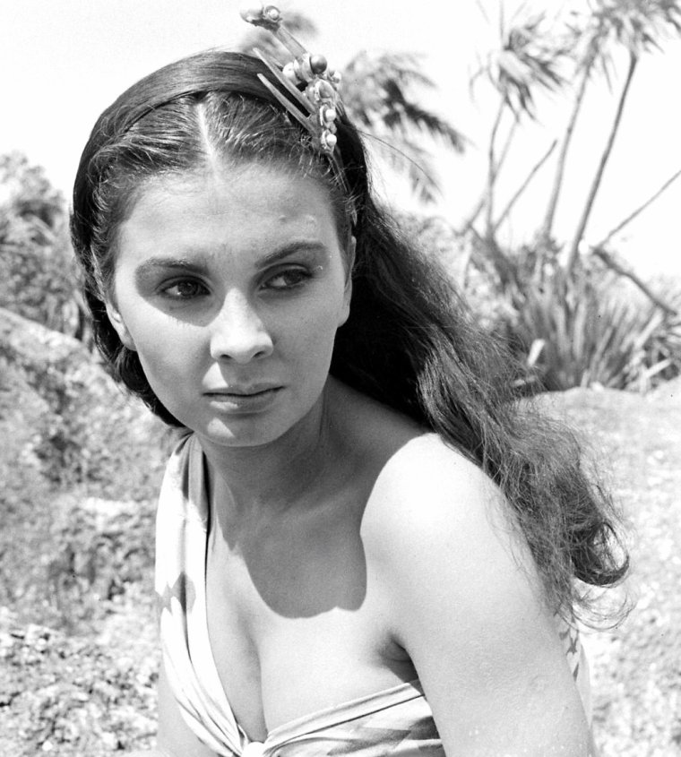 Août 1948, Jean SIMMONS pose pour William J SUMITS.