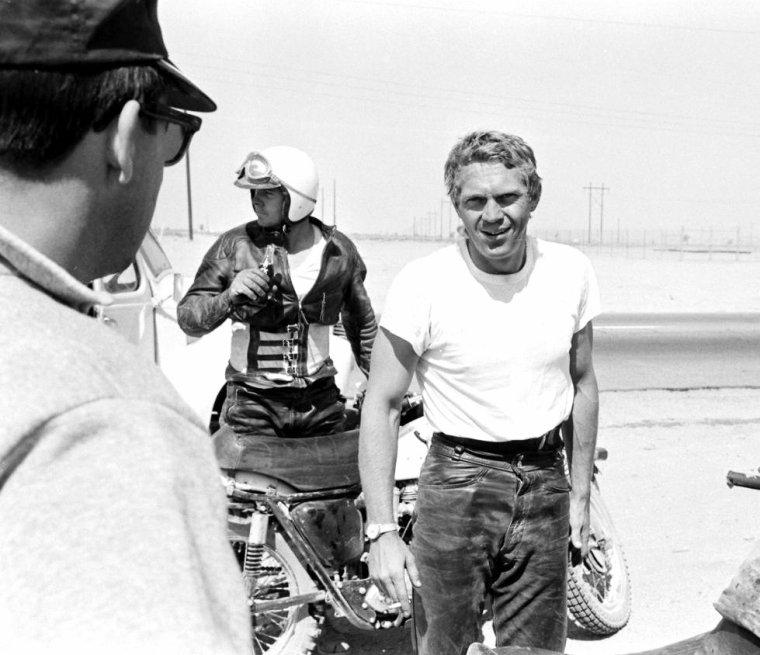 Une journée avec Steve McQUEEN en 1963 vu par John DOMINIS.