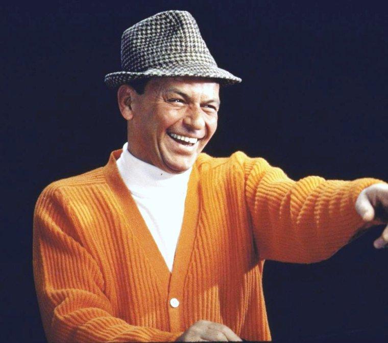 Frank SINATRA vu par John DOMINIS en 1964.