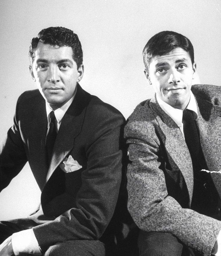 """Jerry LEWIS et Dean MARTIN, notamment au """"Copacabana Club"""" de New-York en Juin 1949, photographiés par Ralph MORSE."""