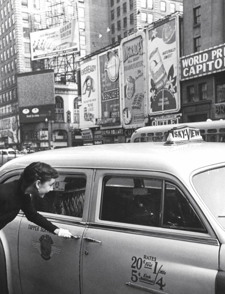 Audrey HEPBURN New-York 1951.