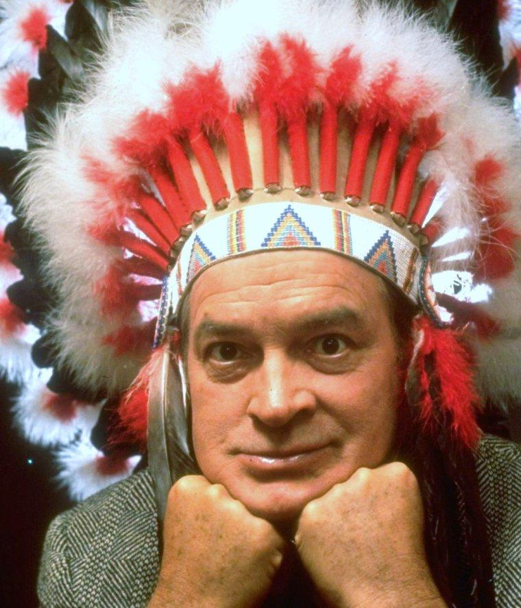 Bob HOPE en 1962 vu par Allan GRANT.
