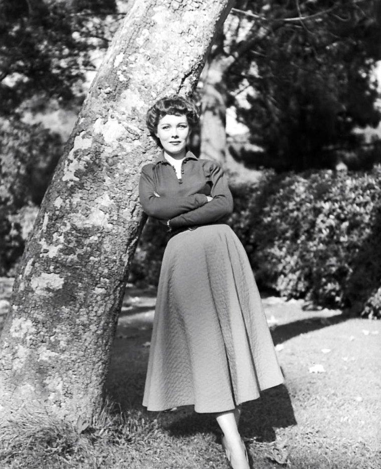 Phyllis KIRK vue par Ed CLARK le 9 Septembre 1950.