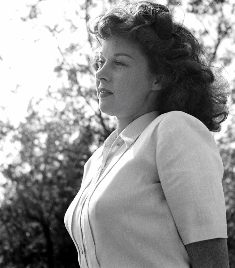 Susan HAYWARD le 11 Novembre 1949 vue par Edward CLARK.