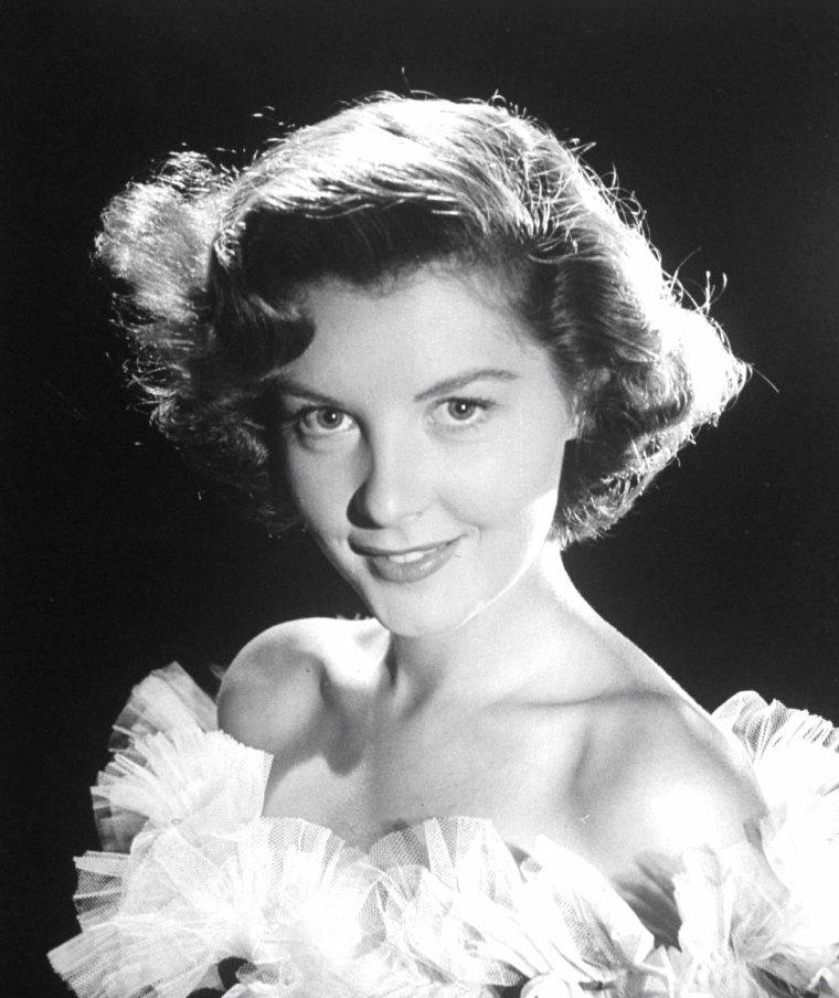 Portrait Barbara BATES en 1950 par Loomis DEAN.