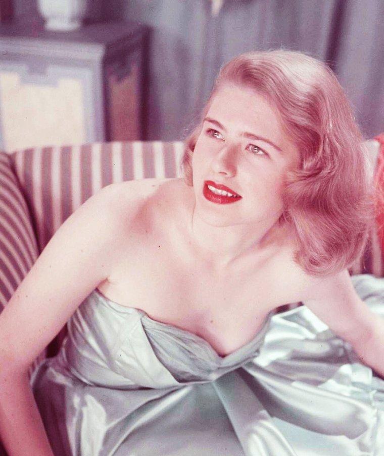 Faye EMERSON vue par Walter SANDERS.
