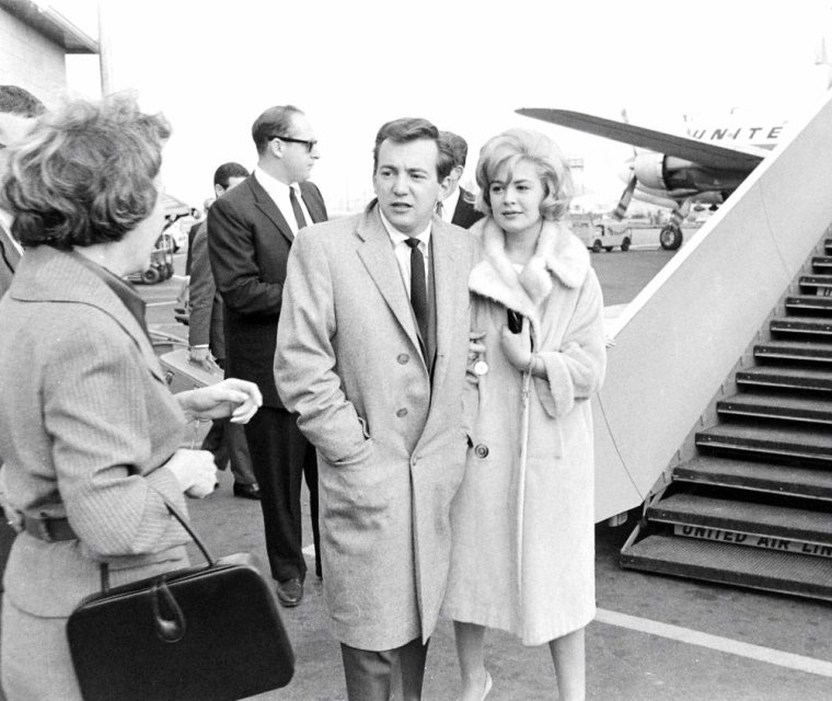 Sandra DEE et Bobby DARIN en 1960 sous l'objectif d'Allan GRANT.