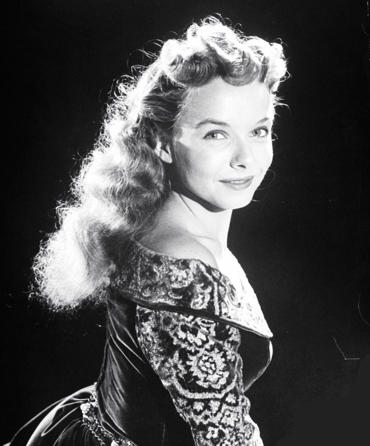 Diana LYNN le 12 Septembre 1949 par Alfred EISENSTAEDT.