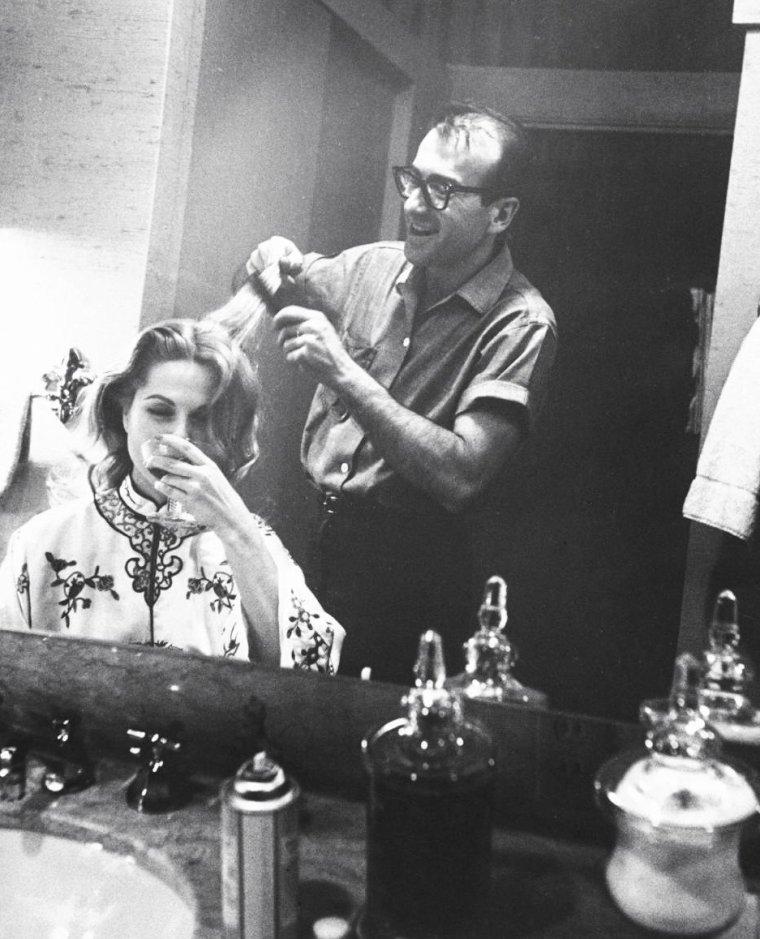 Martha HYER (dont 1 photo avec Henry FONDA) en 1959 photographiée par Leonard McCOMBE.