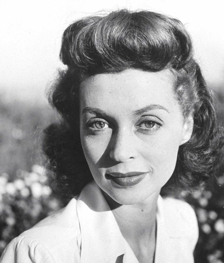 Lilli PALMER en 1946 vue par Martha HOLMES.