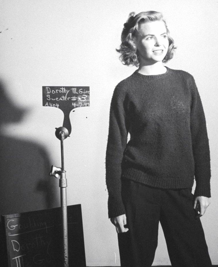 Dorothy McGUIRE en Mai 1943 à Hollywood vue par John FLOREA.