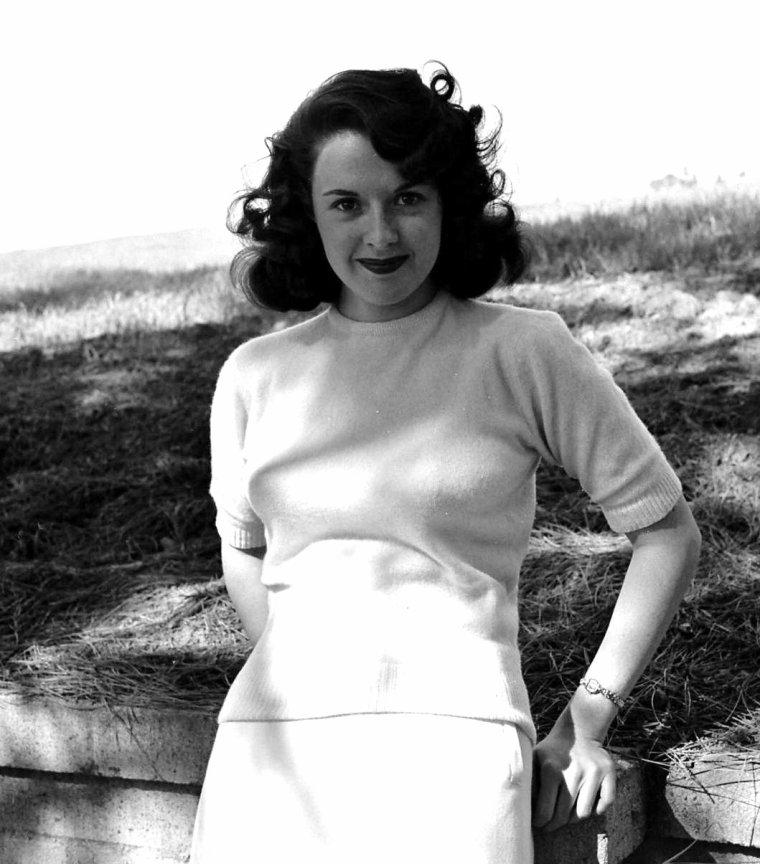 Mala POWERS vue par Peter STACKPOLE le 2 Février 1950.