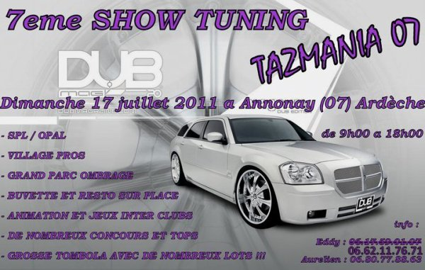7 eme meeting Tazmania 07 du 17 juillet 2011