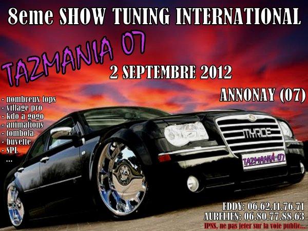 8eme show tuning Tazmania 07 du 2 septembre 2012