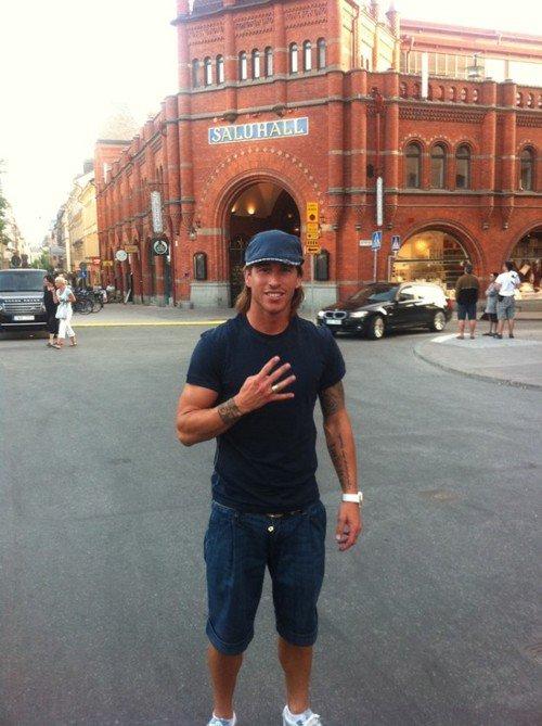 Sergiooooooooo a Stockholm !!