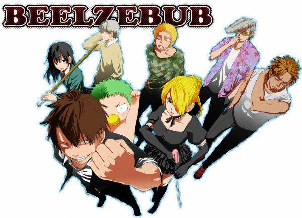 Beelzebub: L'histoire d'un Lycéen qui adopte l'enfant de Satan  (⌒O⌒)