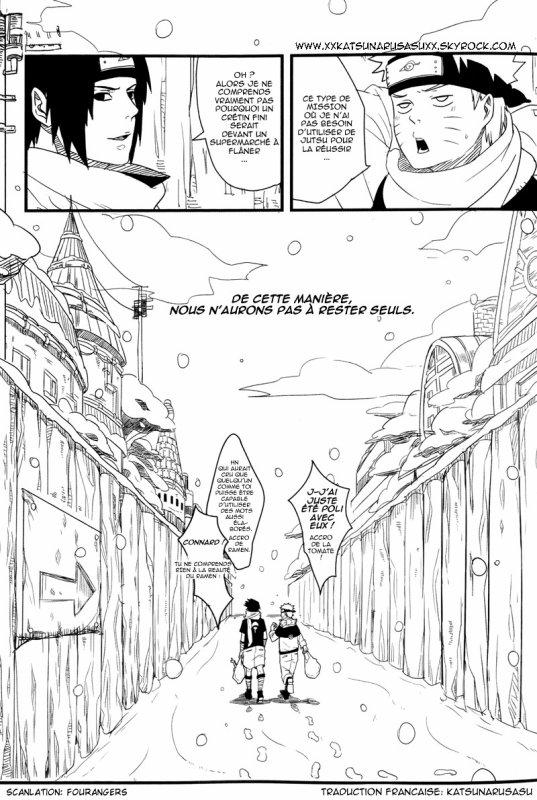 Melting Snow (SasuNaruSasu) - PART 2