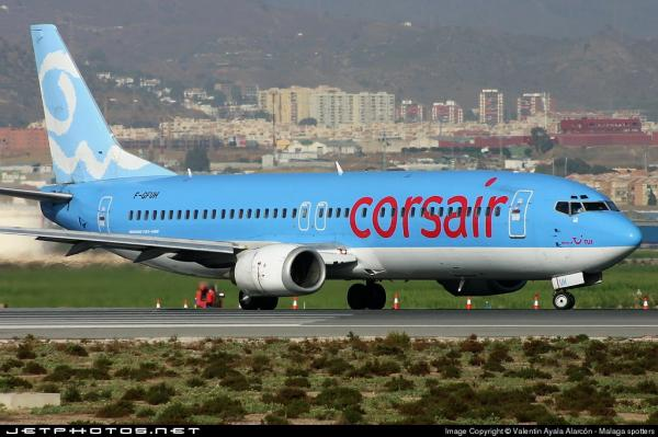 Corsairfly boeing 737 4b3 2002 2004 corsairfly for Interieur 737
