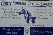 Le panaux de Coat Congar <3 alors vous pouvez passer vos Galops , des stages ,des competiton de CSO ou Dressage ... il y a des spectacles équestre il y a des poneys , des chevaux 2 doubles poneys il font aussi des debourrage ... bon voila.