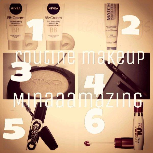 ❤Ma routine makeup de cet été ☼