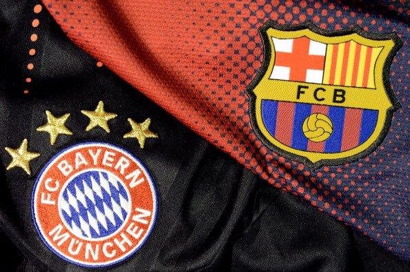 Le Fc Barcelone et le Fc Bayern Munchen <3