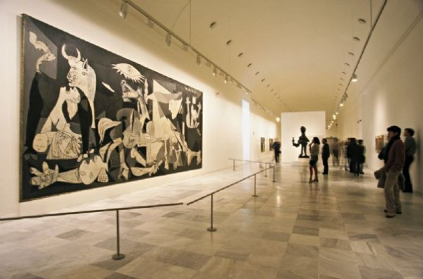 Guernica grandeur nature ...