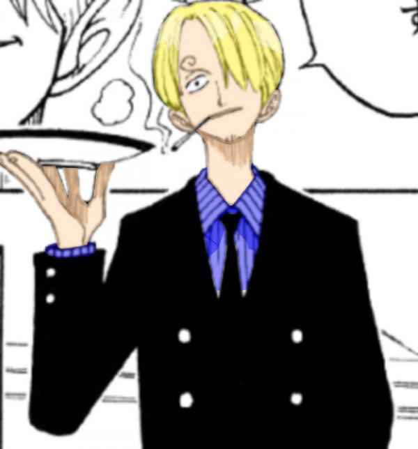 Colorisation One Piece Sanji