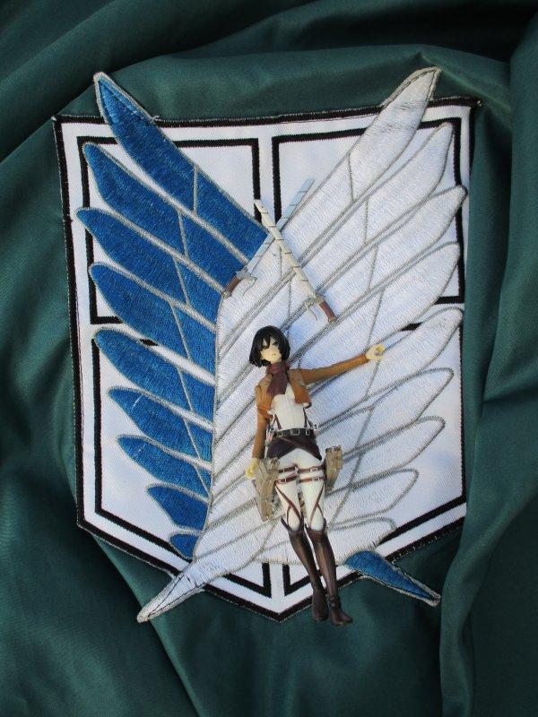 Wir sind die jäger ! #Annie#Mikasa