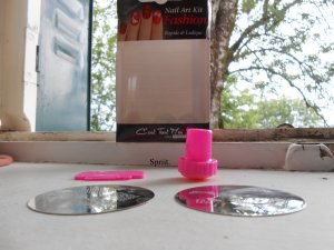 Back To School #5 : Nail Art avec le Kit de Stamping MISS EUROPE PARIS ♥
