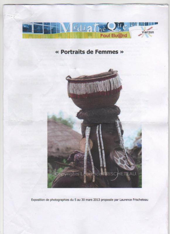 """Expo """"Portraits de Femmes"""""""
