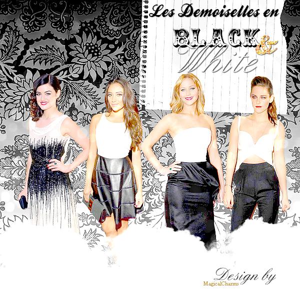 Article Mode : Les Demoiselles en BLACK & White