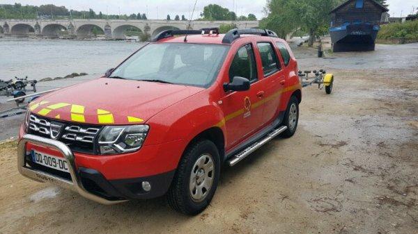 Voici une VLTT Dacia duster a intégrée le CS de Vouvray en septembre tout les CS et CSP de Tours vont avoir les nouvelle VLTT Dacia duster qui vont remplacé les lande rover