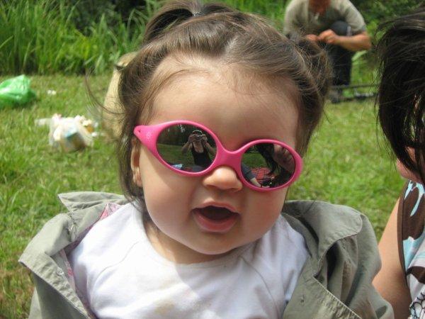 Mélina  a 4 ans
