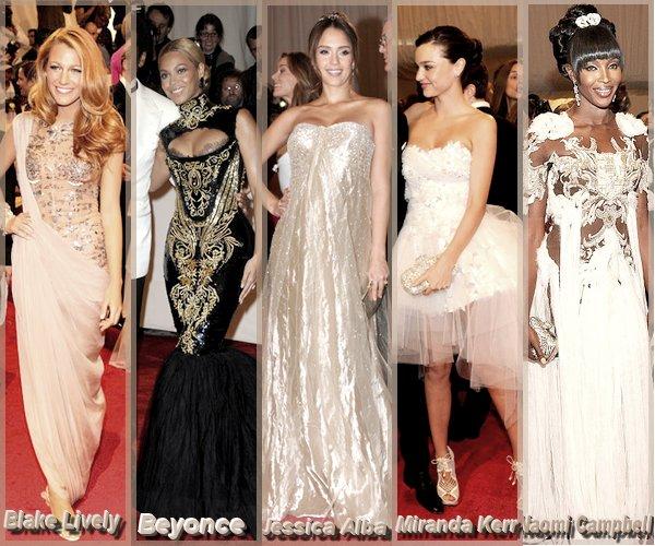Qui a la plus belle robe du MET Costume Institute Gala 2011 ?