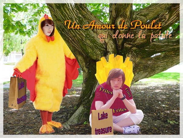 One-Shot n°1 :  Un Amour de poulet qui donne la Patate !  [ONTAENG : ONEW X TAEYEON ]