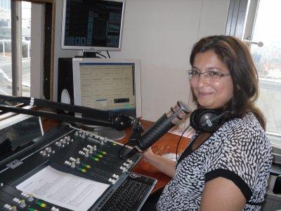 notre amie Farah de la radio Al manar