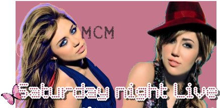 Nouvelles photos promotionnelles pour le Saturday Night !!