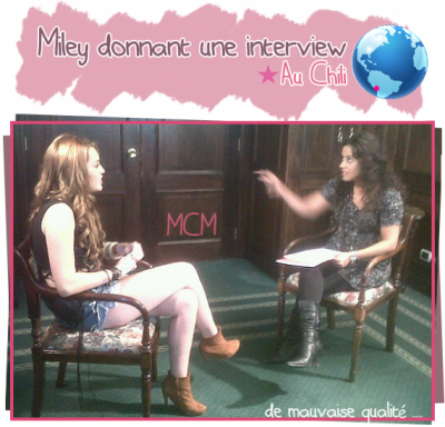Photo Perso et du Gypsy Heart Tour + une Interview au Chili !!!!